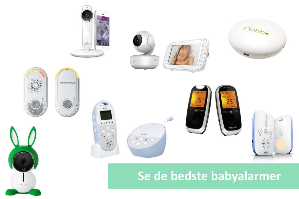 Babyalarm guide cover