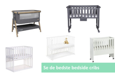 Bedside crib guide cover