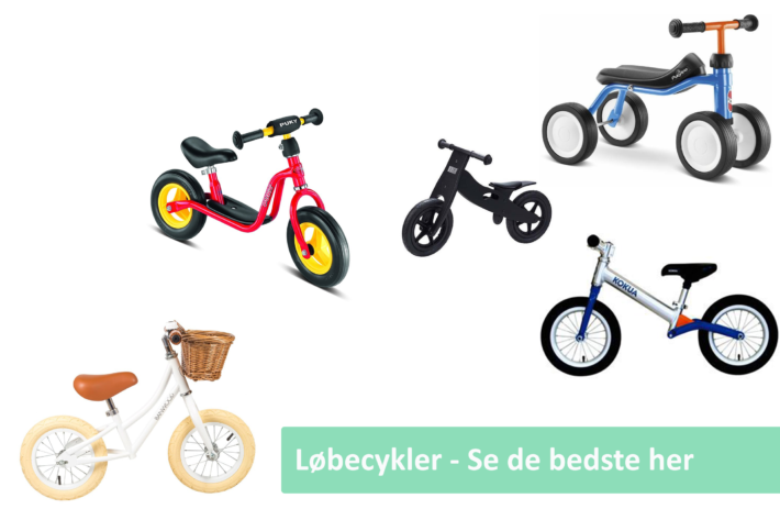 Løbecykel guide cover