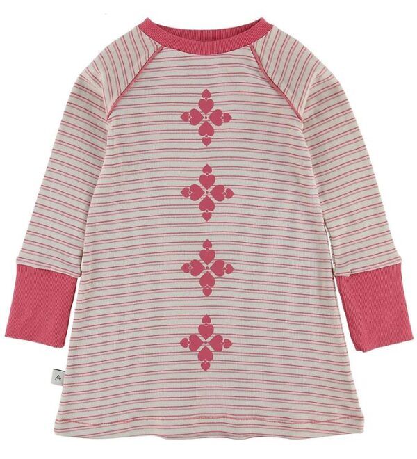 AlbaBaby Kjole - Merry My - Branded Apricot Striped