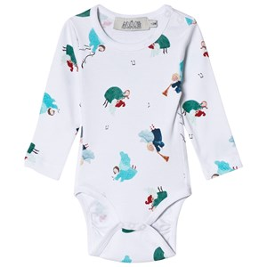 Anïve For The Minors Angel Print Baby Body 1-2 mdr