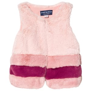 Andy & Evan Kunstpels Vest Rose Quartz 12-18 months