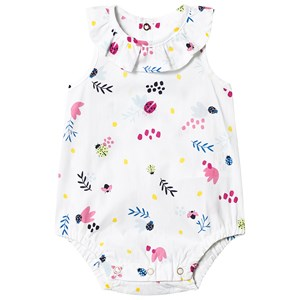 Catimini White Floral Woven Body 1 month