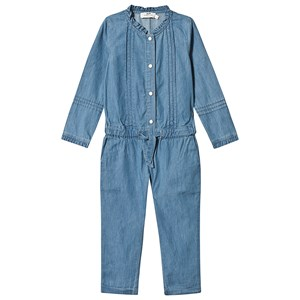 Cyrillus Blue Chambray Jumpsuit 4 years