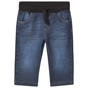 Dolce & Gabbana Blue Denim Elasticated Waist Jeans 9-12 months