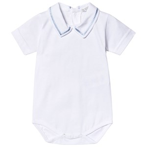Dr Kid White Embroidered Collar Body 1 month