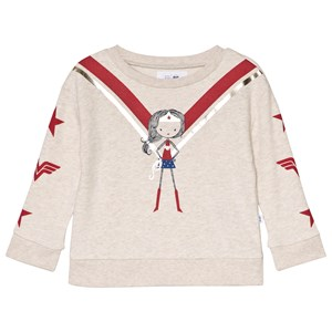 GAP DC™ Wonder Woman Sweatshirt Oatmeal 2 år