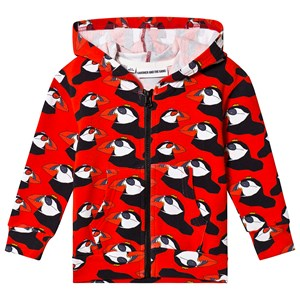 Gardner and the gang Berta The Bird Hoodie Red 9-12 mdr