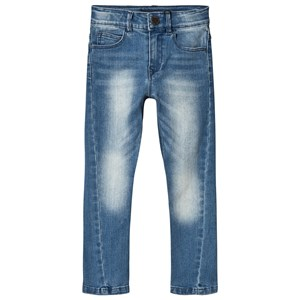 IKKS Blue Twisted Jeans 4 years