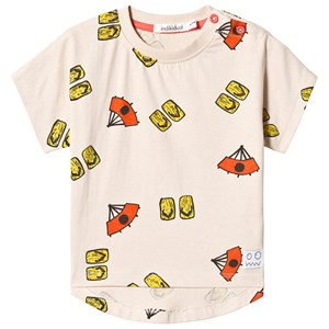 Indikidual Beige Fan and Sandals T-shirt 6-12 months