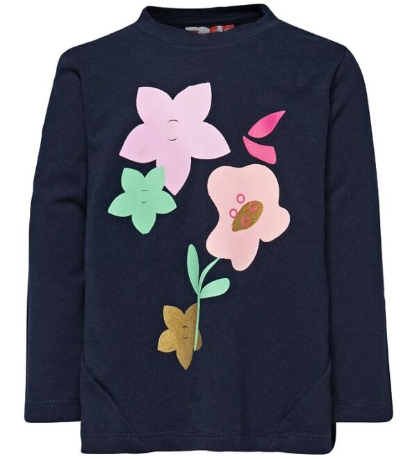 Lego Wear Bluse - Navy m. Blomster