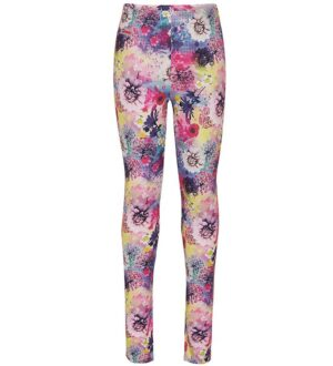 Lego Wear Leggings - Paola - Rosa m. Blomster