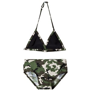 Lindberg Helena Bikini Black and Green 98/104 cm