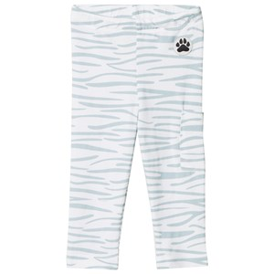 Little LuWi Leggings Blue Tiger Print 6-9 mdr