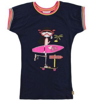 Little Marc Jacobs Kjole - Navy m. Print