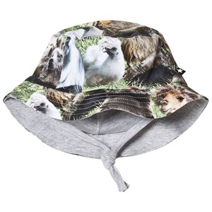 Molo Nomly Baby Hat Hairy Animals 6-12 mdr