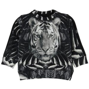 Petit by Sofie Schnoor Sweatshirt - Sort m. Tiger