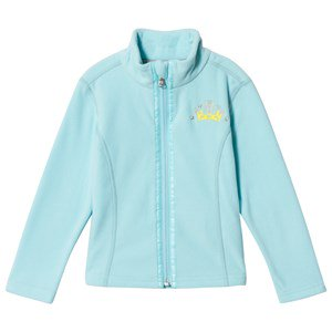 Poivre Blanc Micro Fleece Embroidered Mid Layer Ice Blue 18 months