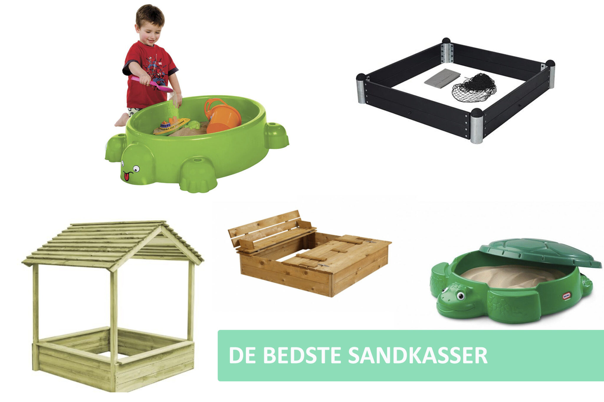 Sandkasse guide cover