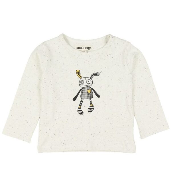 Small Rags Bluse - Crememeleret m. Mr. Rags