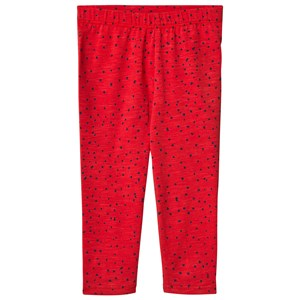 Soft Gallery Paula Baby Leggings Mini Dots Mars Red 3 months