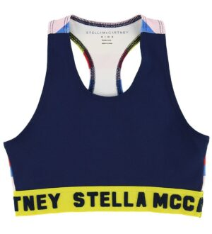Stella McCartney Kids Træningstop - Navy m. Striber