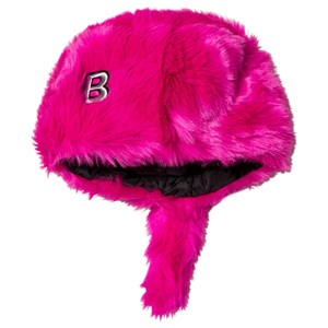 The BRAND Faux Fur Hat with Tail Pink 68/74 cm