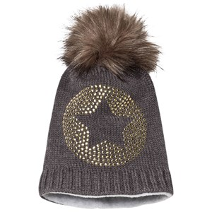 Ticket to heaven Bobble Hat Anthrazit Melange Grey 49 cm