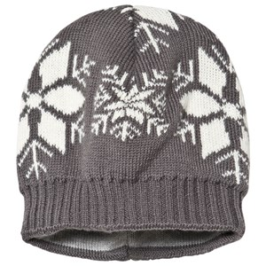 Ticket to heaven Short Knit Hat Castlerock Grey 49 cm