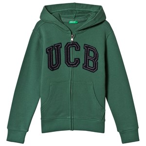 United Colors of Benetton Green Logo Hoodie 1Y (82cm)