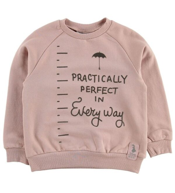 Wheat Disney Sweatshirt - Mary Poppins - Rose Powder