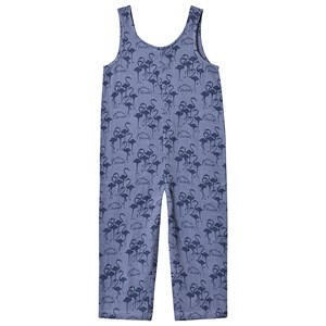 Wynken Blue All Over Flamingo Jumpsuit 2 years