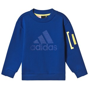 adidas Performance Blue Crew Neck Sweatshirt 4-5 years (110 cm)