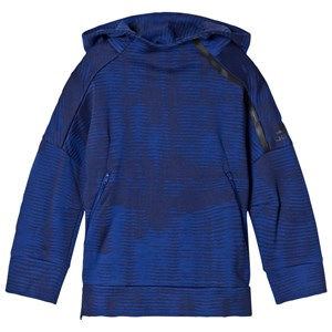 adidas Performance Navy Zone Pulse Hoodie 5-6 years
