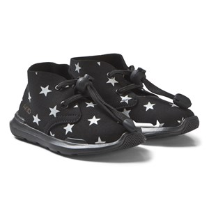 AKID Remington Stars Shoes Black and White US 2 (UK 1, EU 33)