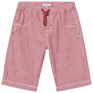 Absorba Red Stripe Pull Up Shorts 6 months