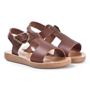Ancient Greek Sandals Little Adonis Sandals Chestnut 23 (UK 6.5)