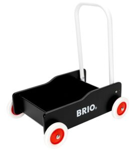 BRIO Toddler Gåvogn - Sort