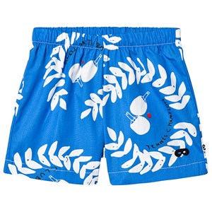 Beau Loves Ping Pong Club Baby Shorts Ink Blue 3-6 mdr