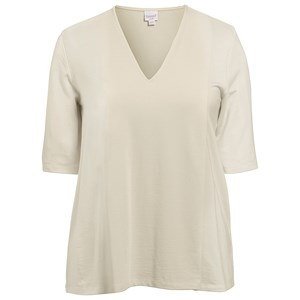 Boob Swagger V Neck Top Lime Stone M (38/40)