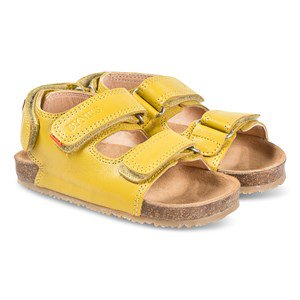 By Nils Lumsheden Sandals Yellow 25 EU