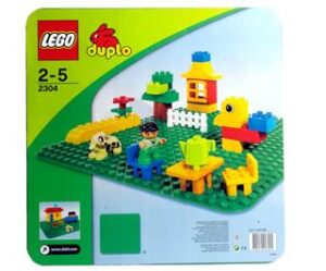 Byggeplade , stor - 2304 - DUPLO Bricks &More