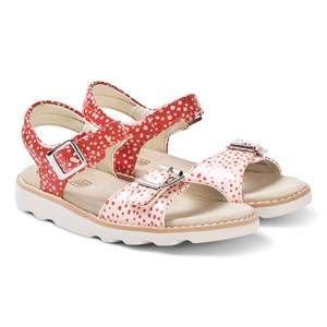 Clarks Orange Interest Crown Bloom Sandals 28 (UK 10)