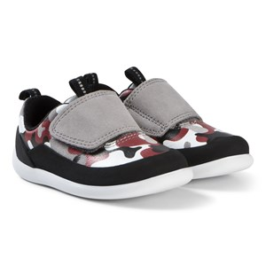 Clarks Play Spark Shoes Red Camouflage 20 (UK 4)