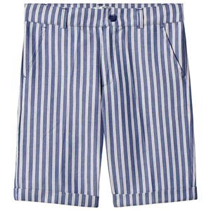 Dr Kid Blue Multi Stripe Cotton Shorts 5 years