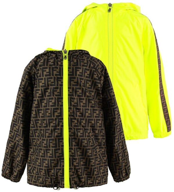 Fendi Windbreaker - Neongul