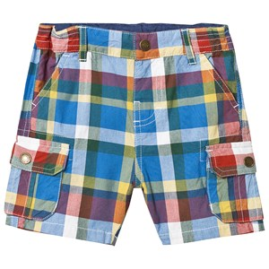 Frugi Check Shorts Multi 6-12 months