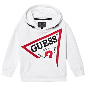 Guess Icon Logo Baby Hoodie White 3 years
