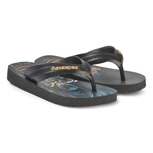 Havaianas Batman Klipklapper Sort 31/32 (UK 13)