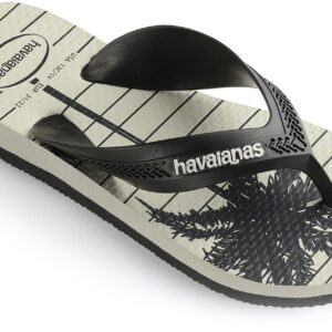 Havaianas Kids Max Trend Klipklapper, New Graphite/White 27-28